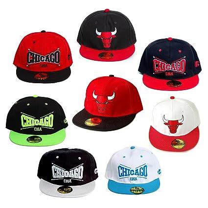 Deporte de baño 8er-Set | Diseño: Chicago Bulls | Traje básquetbol-gorra