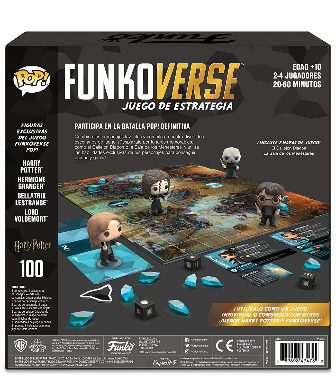 Amazon.com: Funko Pop! Funkoverse Strategy Game: Harry ...