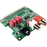 Amazon com: Pimoroni pHAT DAC 24-bit/192KHz Sound Card for Raspberry