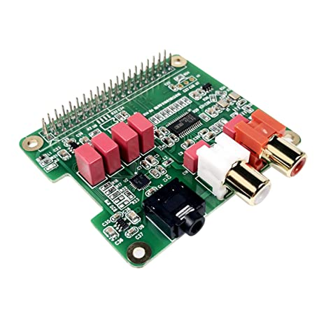 Inno-Maker Raspberry Pi HiFi DAC HAT PCM5122 HiFi DAC Audio Card Expansion  Board for Raspberry Pi 3 B+ Pi Zero etc  (DAC HAT)