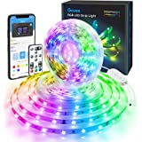 Govee Color Changing 32.8ft LED Strip Lights Bluetooth, App Control, Remote, Control Box LED Music Lights, 7 Scenes Mode Mult