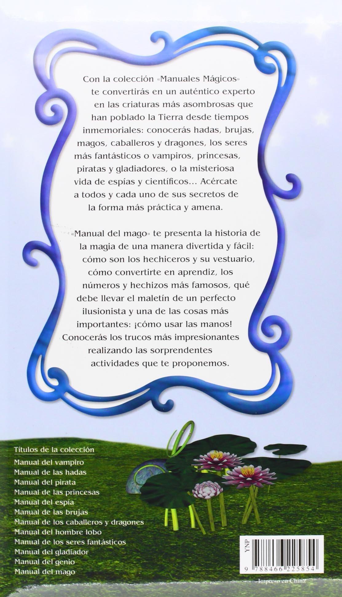 Manual De Mago (Manuales Mágicos): Amazon.es: Alejandra Ramírez, Agustín  Celis: Libros