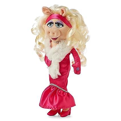 amazon com little miss piggy 15 plush toys games