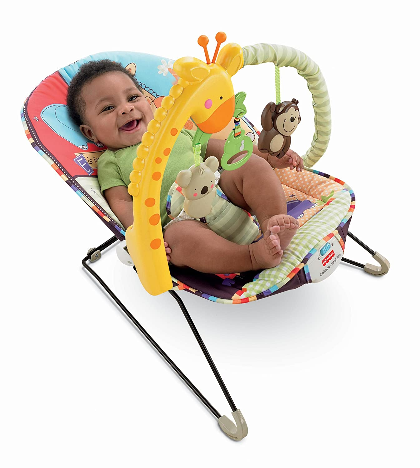 Amazon Fisher Price Playtime Bouncer Luv U Zoo Infant