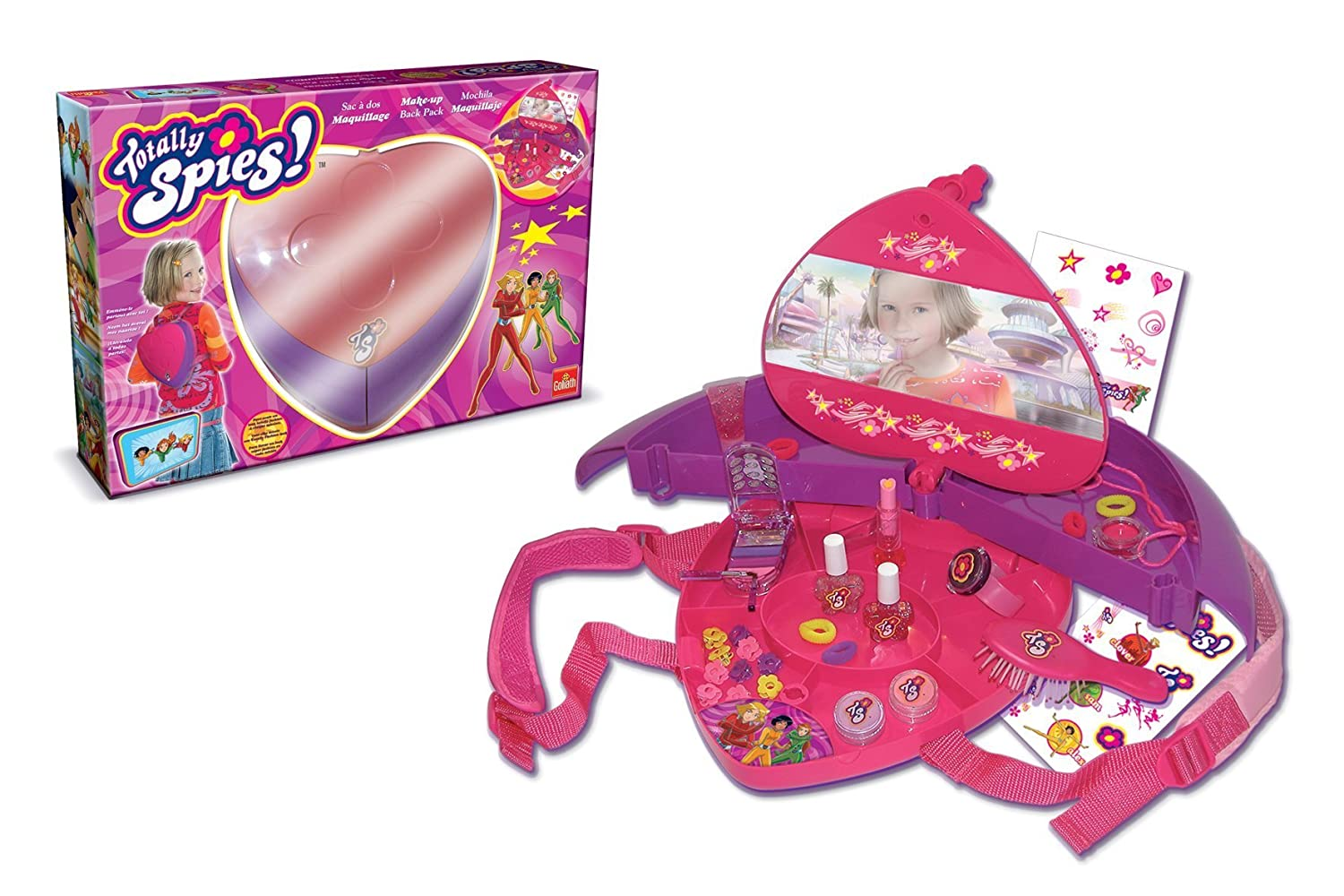 super populaire 981ab 85e90 Goliath - Imitation - Totally Spies - Sac à dos maquillage ...
