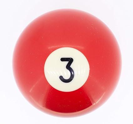 Premiergames - Bolas de billar (57,2 mm), Nr. 3, 57,2mm: Amazon.es ...