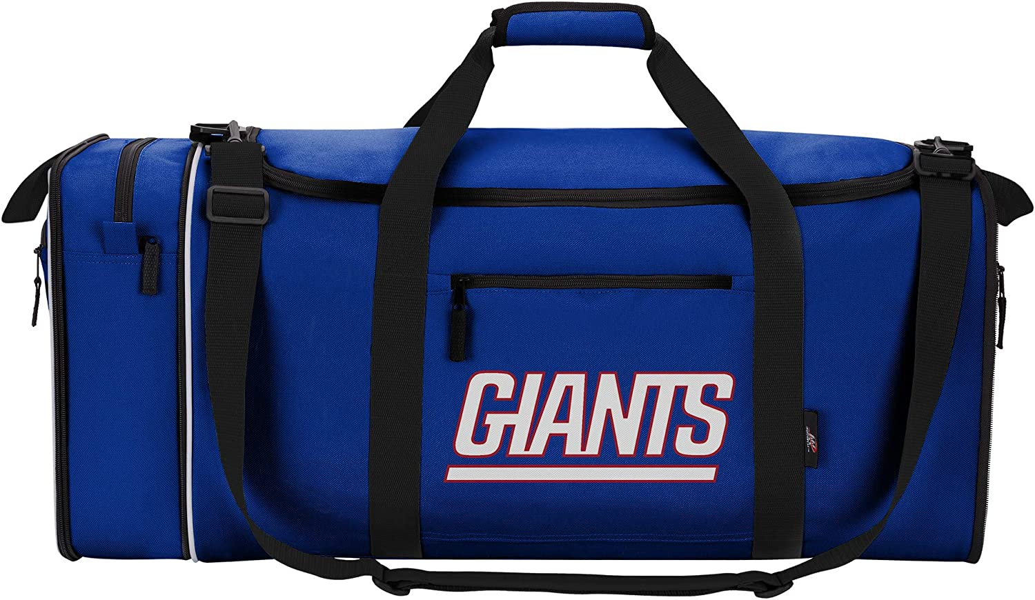 "NFL New York Giants ""Steal"" Duffel, 28"" x 11"" x 12"" : Clothing"