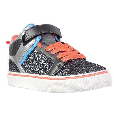 OP Ocean Pacific Girls Chunky Glitter Athletic Shoes (3 Big Kids) b0ec54381