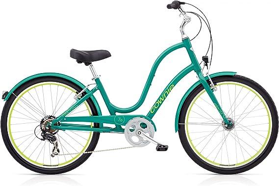 ELECTRA Townie Original 7d EQ Mujer Bicicleta Verde 26 Beach ...