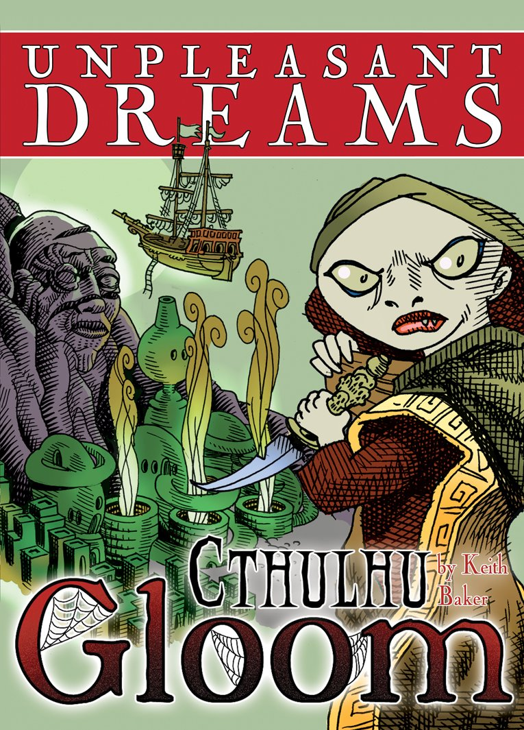Unpleasent Dreams: Cthulhu Gloom - Juego de Misterio, 2 a 6 ...