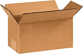 "product image for Partners Brand P361210 Long Corrugated Boxes, 36""L x 12""W x 10""H, Kraft (Pack of 15)"