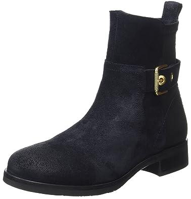 924993f42cf23 Tommy Hilfiger Damen T1285ESSA HG 2C Chelsea Boots - Blau (Midnight) , 37 EU