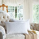 "SNOWMAN Bedding Standard/Queen Size Goose Feather Pillow 600TC Cotton Cover 20""x28""(35oz)"