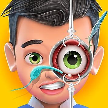 Amazon Com Eye Cataract Hospital Simulator Surgery Game