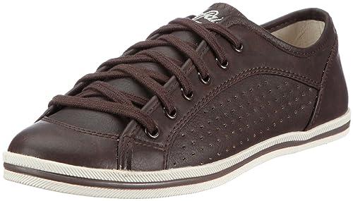 Buffalo 507-9987 TUMBLE PU 126246 - Zapatillas con cordones para mujer, color marrón, talla 40: Amazon.es: Zapatos y complementos