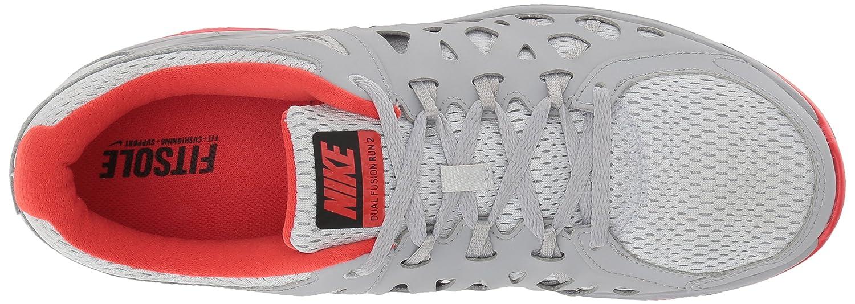huge discount 8db7b 45606 Amazon.com   Nike Men s Dual Fusion Run 2 Pr Pltnm Blk WLF Gry Lt Crmsn  Running Shoe 10 Me.   Running