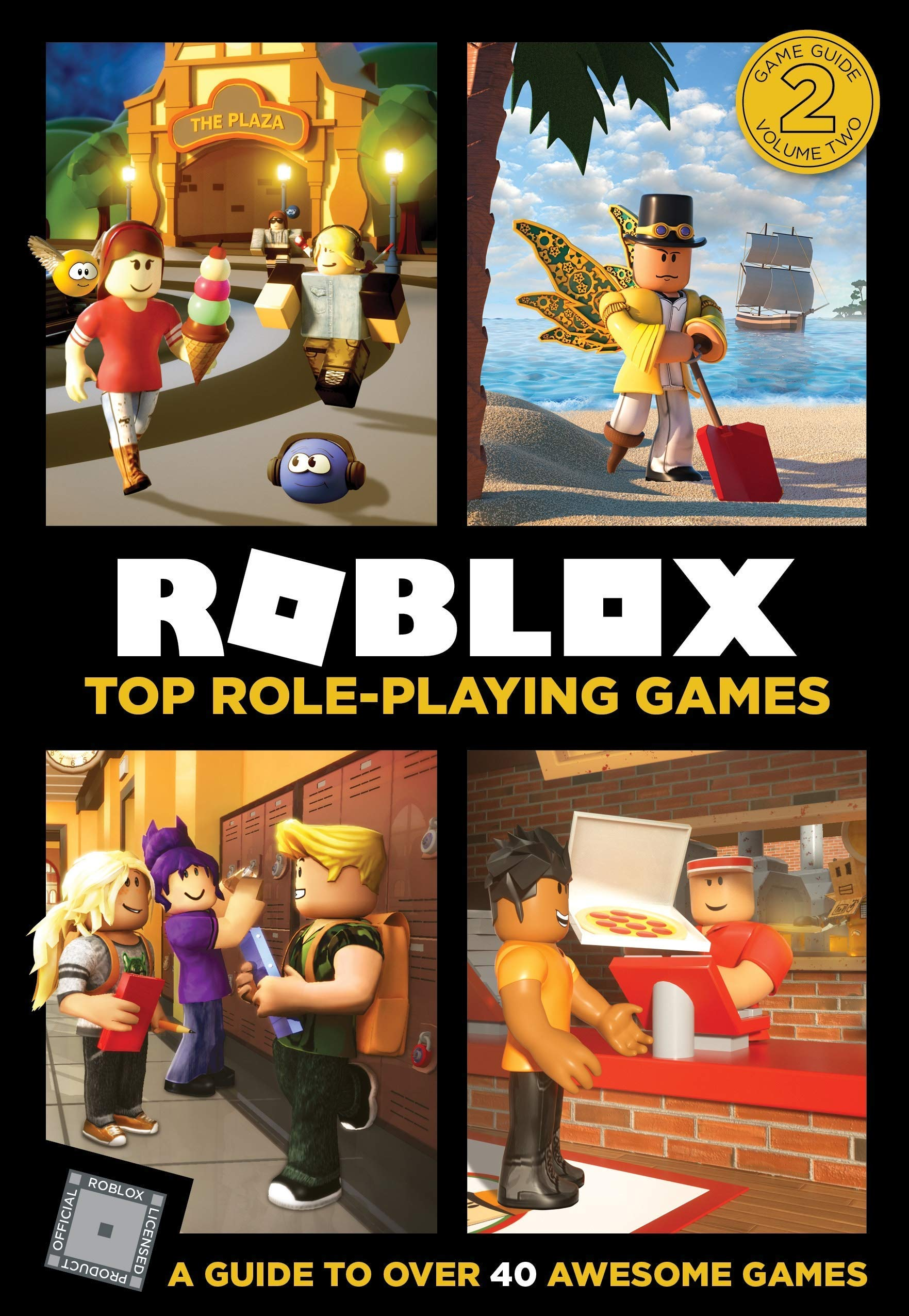 Roblox Ultimate Guide 3 Books Collection Set Top Role Playing