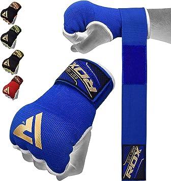 RDX Cinta Boxeo Vendas Mano Muñeca Elasticas Interiores Guantes MMA Envolturas Vendaje Kick Boxing: Amazon.es: Deportes y aire libre