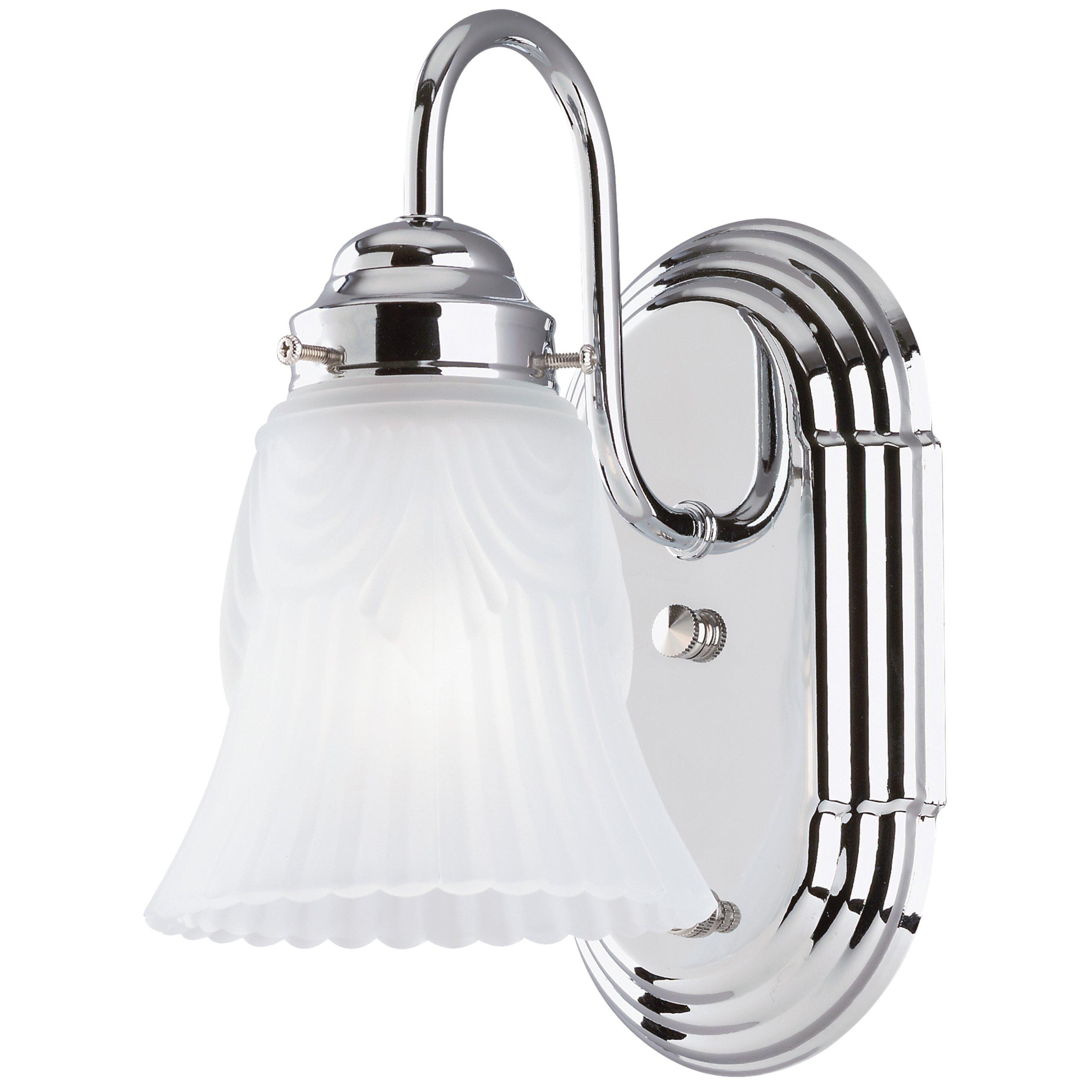 Westinghouse Lighting Corp 1-Light Light Fixture, Chrome