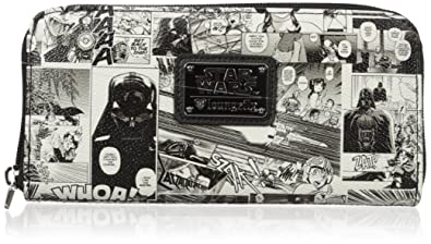 Loungefly Womens Sw Black and White Comic Wallet, One Size