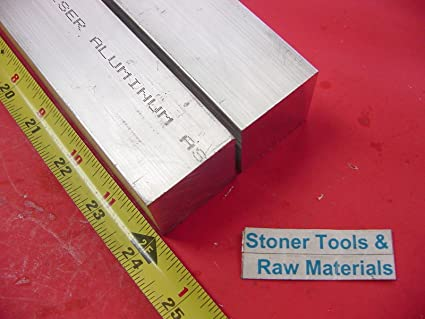 "2 pieces 1.250/"" x 12/"" Aluminum 6061 T6511 Extruded Round Bar Lathe Stock Rod"