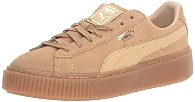 cefeed1034ed PUMA Women s Suede Platform core Fashion Sneaker