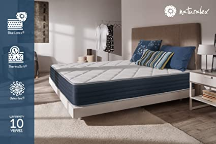 Naturalex Matelas Supervisco Mousse Adaptative Blue Latex