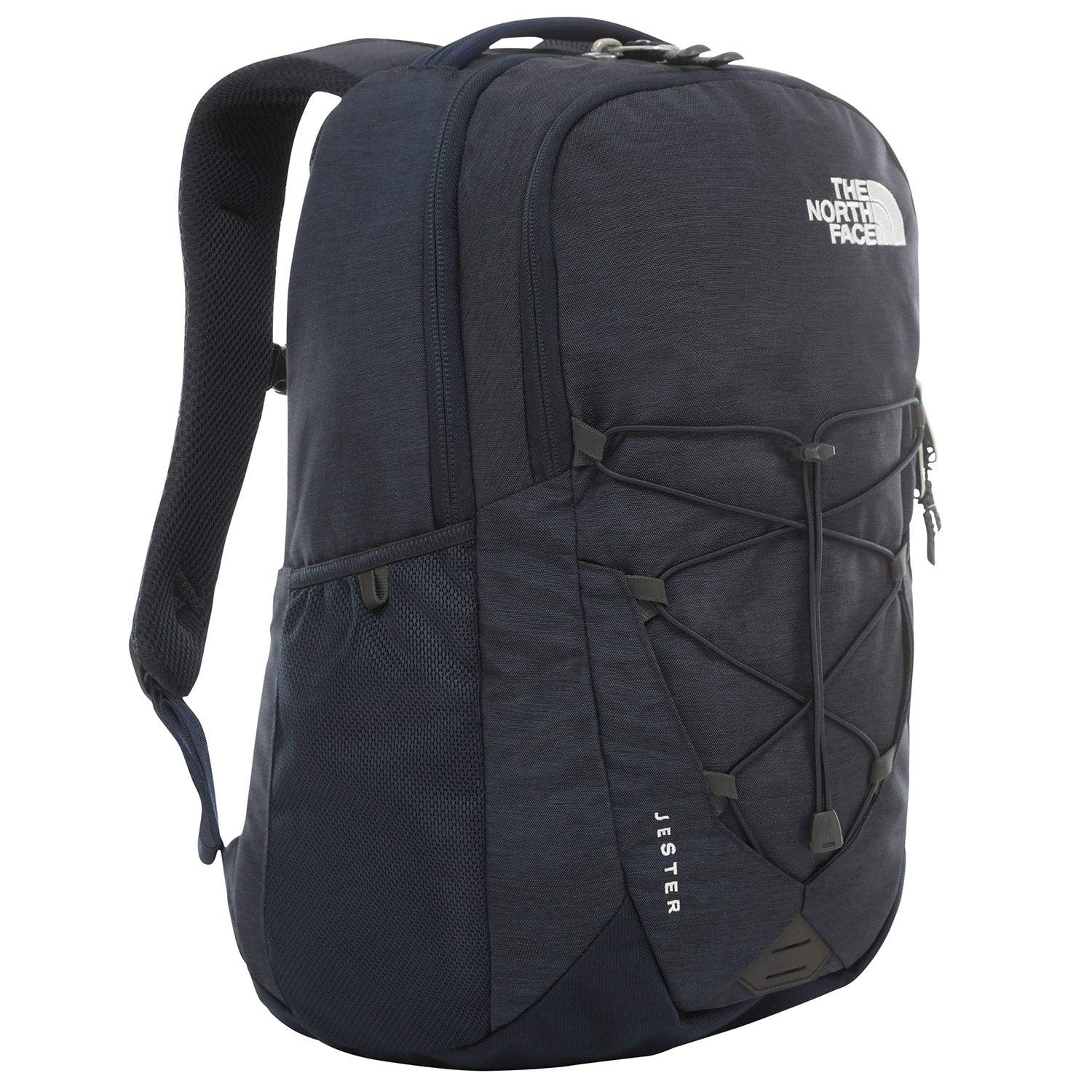 The North Face Jester Backpack, Urban Navy Light Heather/TNF White by The North Face