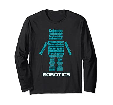 Amazon Com Robotics Stem Maker Word Cloud Clothing