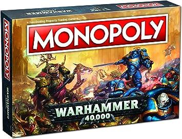 Warhammer 40k 40,000 Monopoly Juego de Mesa - Ingles: Amazon.es: Juguetes y juegos