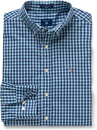 Gant Hombre Camisas: Amazon.es: Ropa y accesorios