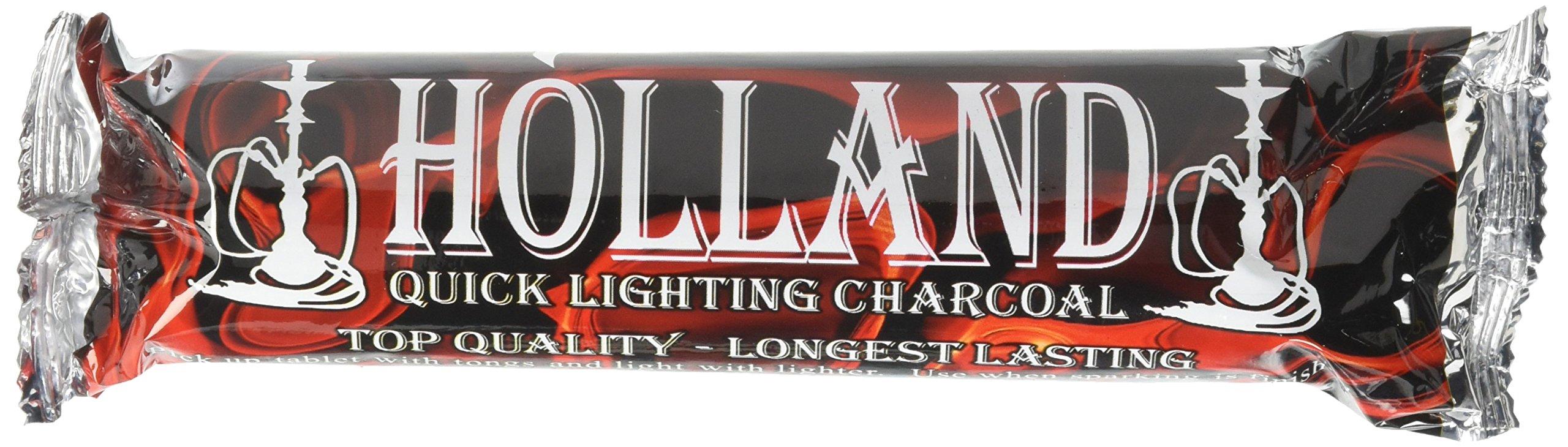 Holland Quick Lighting Hookah Shisha Charcoal - 100 pieces full box
