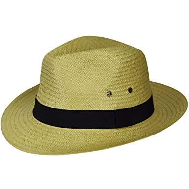 9e510f15f746c Country Gentleman Men Scott Straw Fedora at Amazon Men s Clothing store
