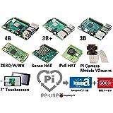 リユースPi プログラム パック (Raspberry Pi 4 3B+ 3 ZERO HAT Camera)