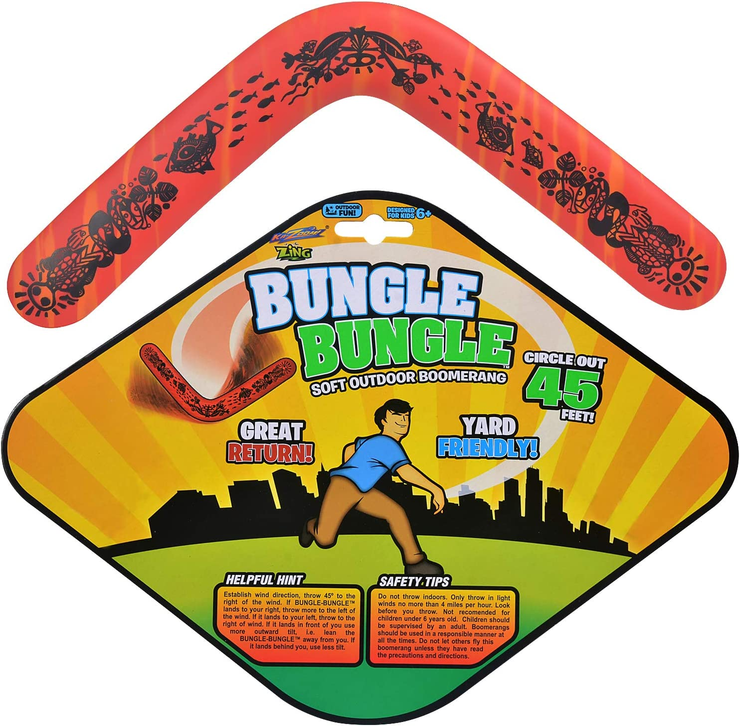 3 Pack Australian Boomerang Pro Sports Boomerang Outdoor Sports Throw Catch Toy Flying Toy Color Random