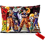 "DoubleUSA Dragon Ball Z Pillowcases Both Sides Print Zipper Pillow Covers 20""x30"""