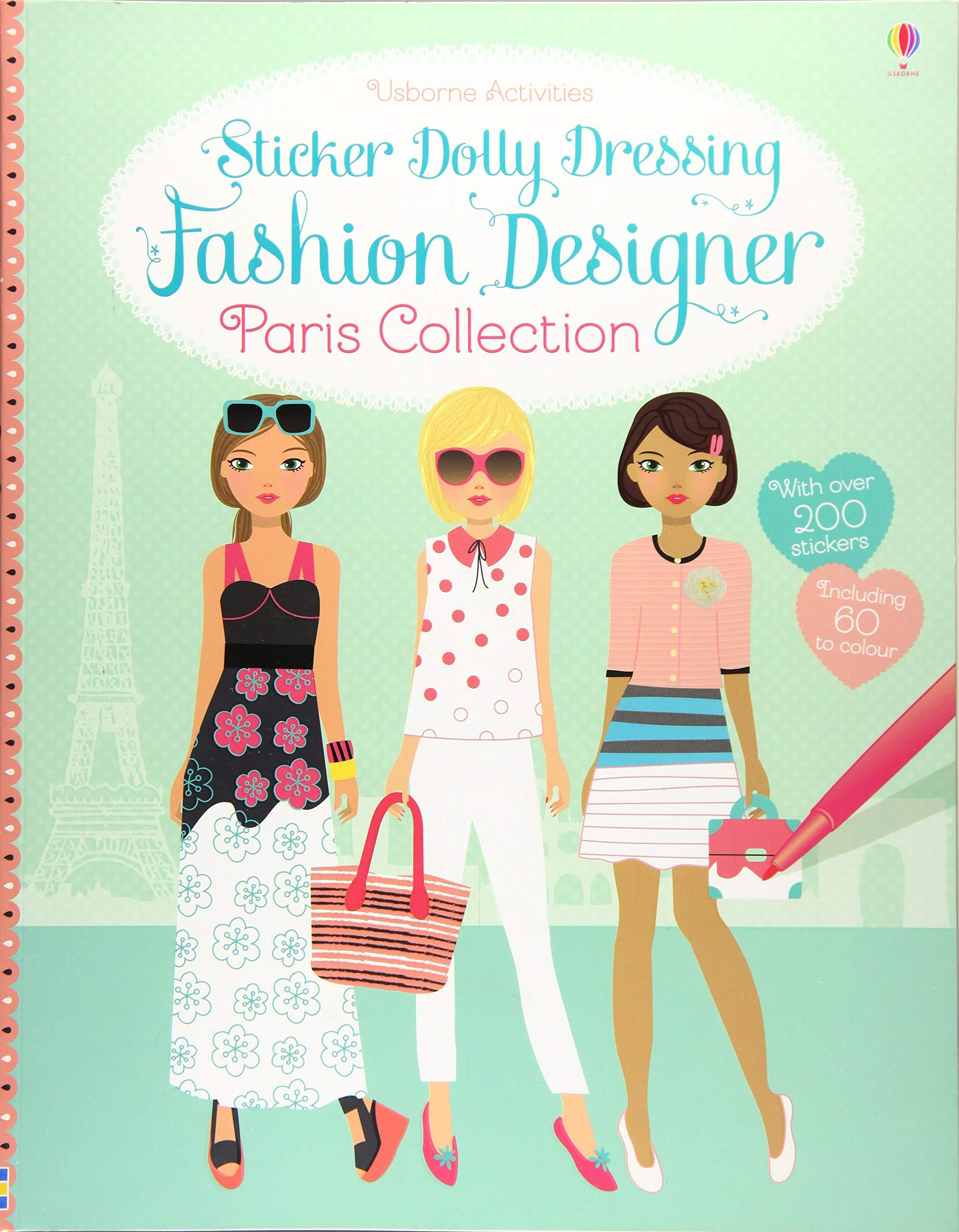 Sticker Dolly Dressing Fashion Designer Fiona Watt 9781409581840 Amazon Com Books