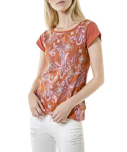 Camiseta con estampado frontal