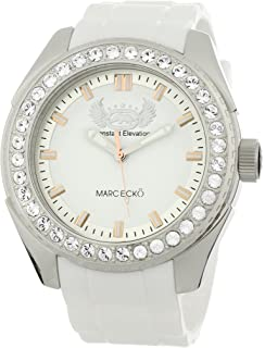 Marc Ecko Mens The Grandee Quartz Stainless Steel and Resin Dress Watch, Color