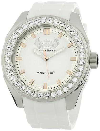 Marc Ecko Reloj Análogo clásico para Hombre de Cuarzo con Correa en Silicona E12586G1: Marc Ecko: Amazon.es: Relojes