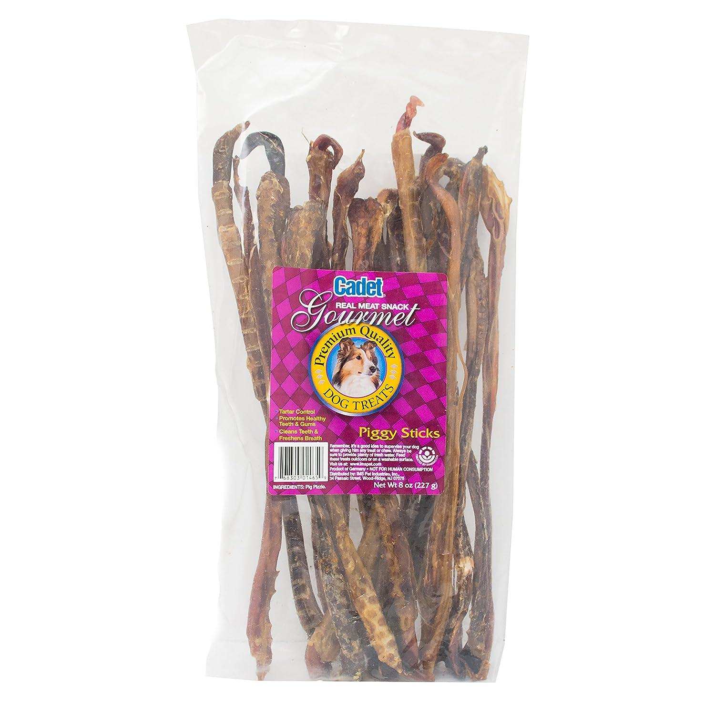 Cadet Dog Treat Large Piggy Sticks, 8 oz.
