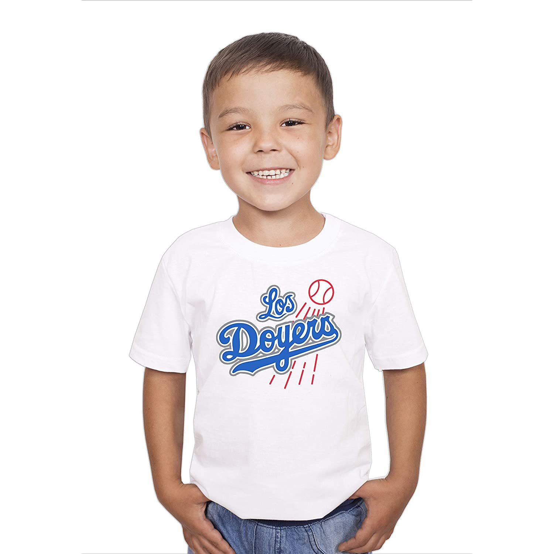Threadz Los Doyers Shirt Dodgers Parody Child Tshirt