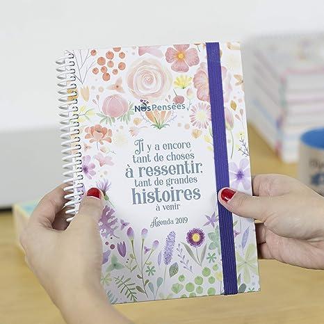 Nos pensées - Agenda 2019 Semainier: Amazon.es: Oficina y ...
