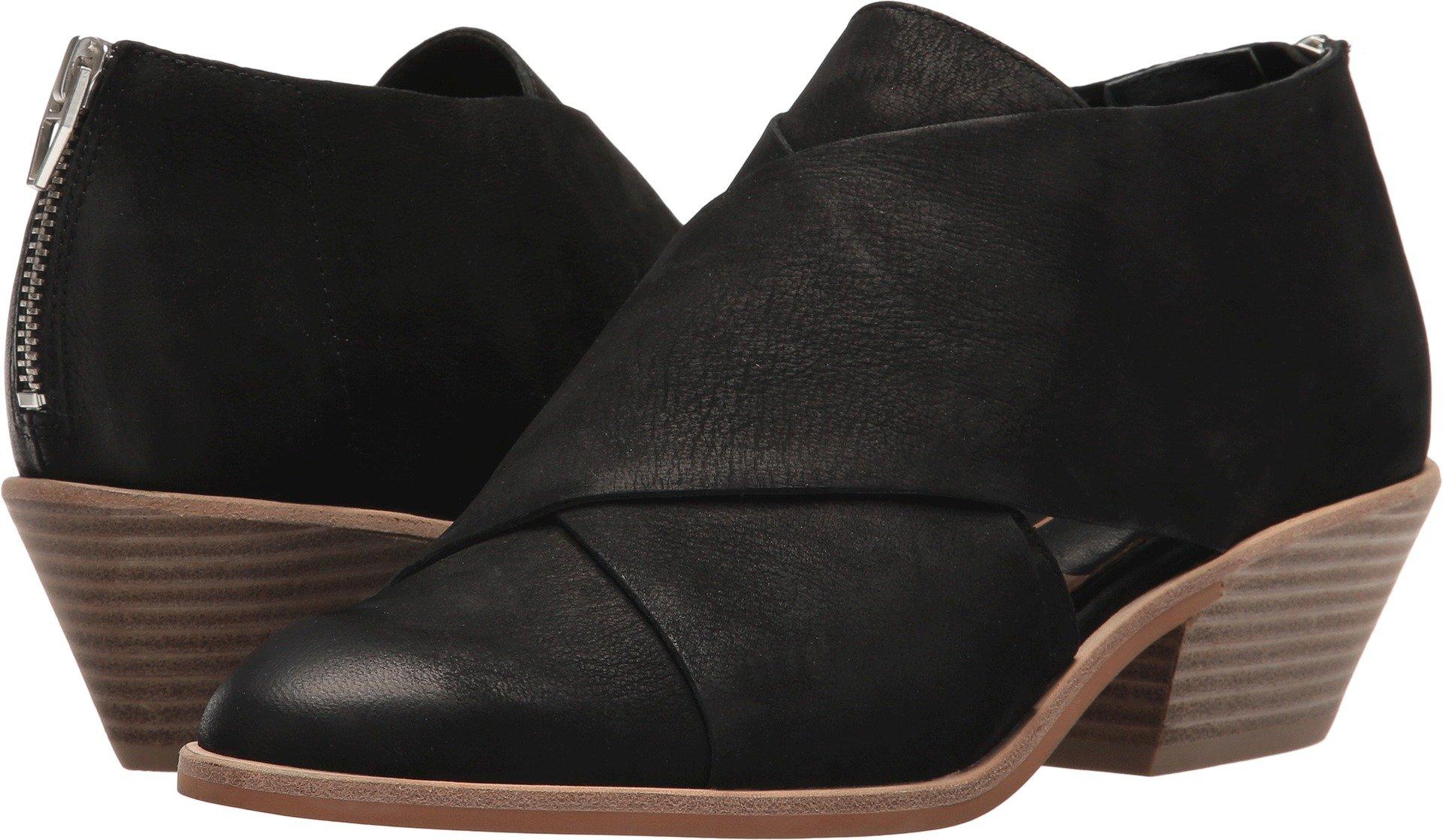 Dolce Vita Women's Loida Ankle Boot, Black Nubuck, 6 M US