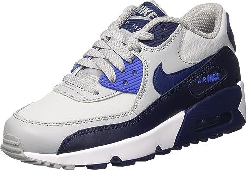 Nike Air Max 90 Mesh GS, Sneakers Mixte Enfant