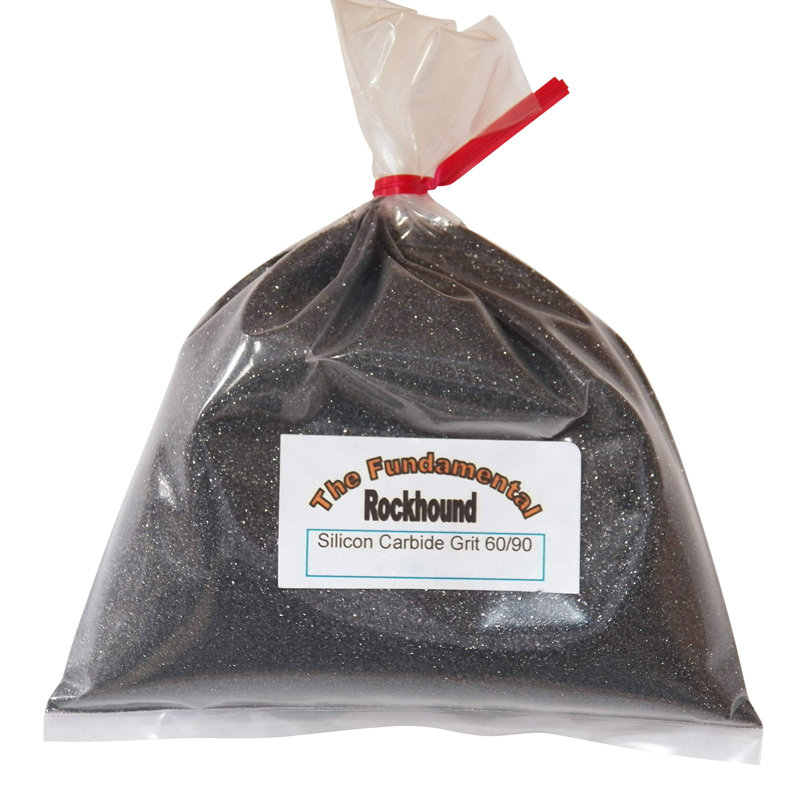 Fundamental Rockhound Products: 10 lb 60/90 Coarse GRIT for Rock Tumbling polishing Silicon Carbide