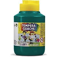 Tempera Guache 250 ml, Acrilex, 020250511, Verde Bandeira