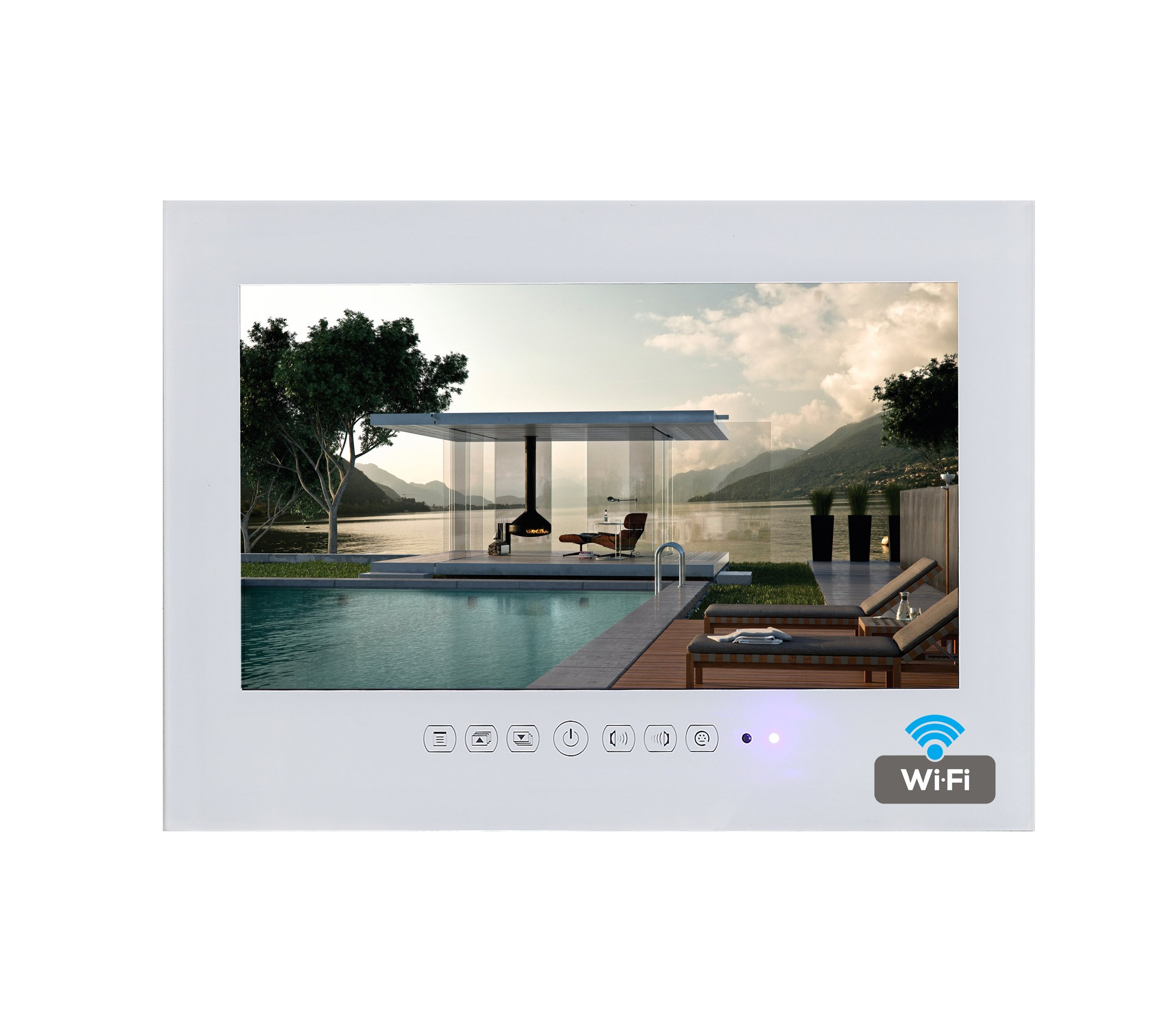 Soulaca 32'' Android Smart White Waterproof Bathroom TV T320FA-W