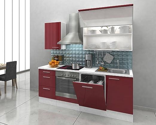 respekta Premium Instalación de Cocina Cocina 220 cm Color ...
