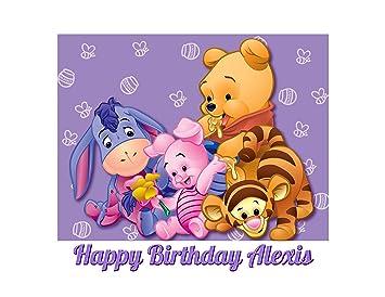 Amazoncom Winnie The Pooh Edible Image Photo Cake Topper Sheet